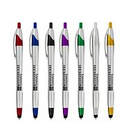 Promotional Sleek Silver Stylus Pen