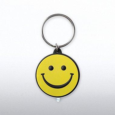PVC LED Flashlight Keychain - Positively Awesome