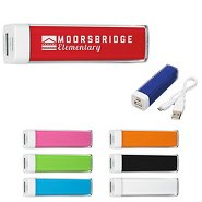 Promotional Color Pop Power Bank Back-Up Battery