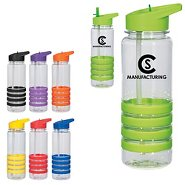 Promotional Banded Gripper Water Bottle