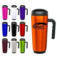 Promotional Double-Wall Stainless Steel Mug with Handle