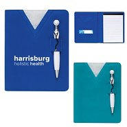 Promotional Scrubs Notebook & Pen Gift Set