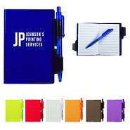 Promotional Translucent Mini Notebook & Pen Set