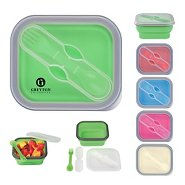 Promotional Silicone Food Container & Utensil Set
