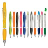 Promotional Pen & Highlighter Combo