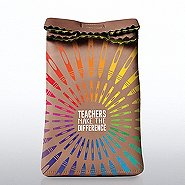 Lunch Sack Cooler Bag -Crayons: Teachers Make the Difference