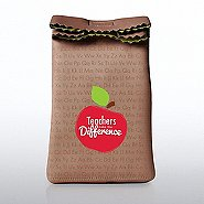 Lunch Sack Cooler Bag - Teachers Make the Difference Apple