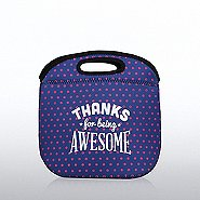 Polka Dot Lunch Tote -  Thanks for being Awesome!