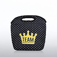 Polka Dot Lunch Tote - Team Royally Awesome