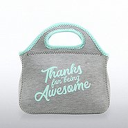 Heathered Lunch Cooler - Thanks For Being Awesome