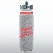 Heathered Sports Water Bottle - Thanks For Being Awesome