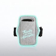 Heathered Sports Armband - Thanks For Being Awesome
