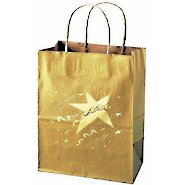 Kraft Paper Gift Bag - Celebration Star