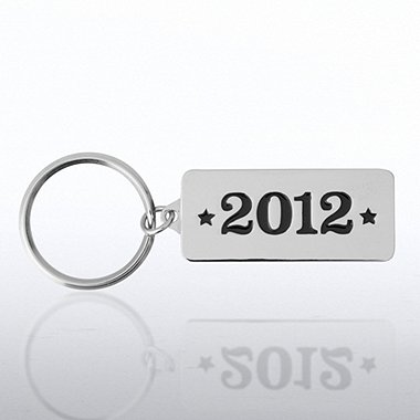 Nickel-Finish Key Chain - 2012