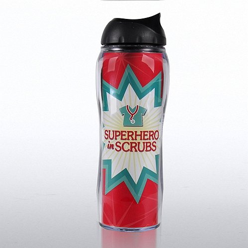 Superhero in Scrubs Travel Mug