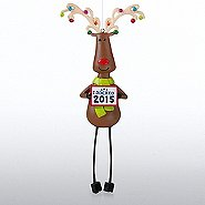Reindeer Shelfee Ornament: I Rocked 2015!