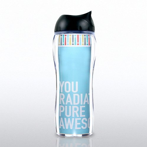Travel Mug: You Radiate Pure Awesome