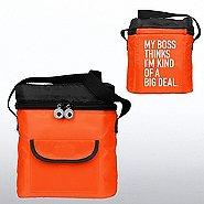 Goofy Grin Cooler Bag -My Boss Thinks I'm Kind of a Big Deal