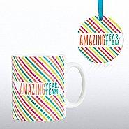 Cheerful Holiday Gift Set - Amazing Year. Amazing Team