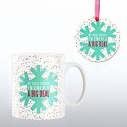 Cheerful Holiday Gift Set - My Boss Thinks I'm Kind Of...