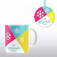 Cheerful Holiday Gift Set - We Appreciate You