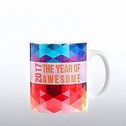 Full O' Joy Value Mug - 2017: The Year of Awesome