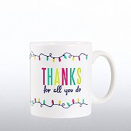 Full O' Joy Value Mug - Thanks For All You Do