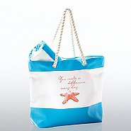 Beach Please Tote and Towel -Starfish: You Make A Difference