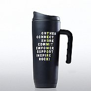 Classic Stainless Steel Travel Mug - Teamwork Crossword