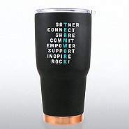 Big Sip Stainless Steel Tumbler - Teamwork Crossword