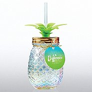 Shimmering Pineapple Tumbler - Be The Difference
