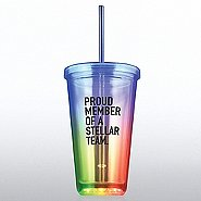 Light-Up Tumbler - Proud Member Of A Stellar Team