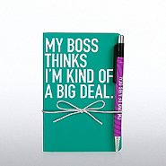 Perfect Bound Journal - My Boss Thinks