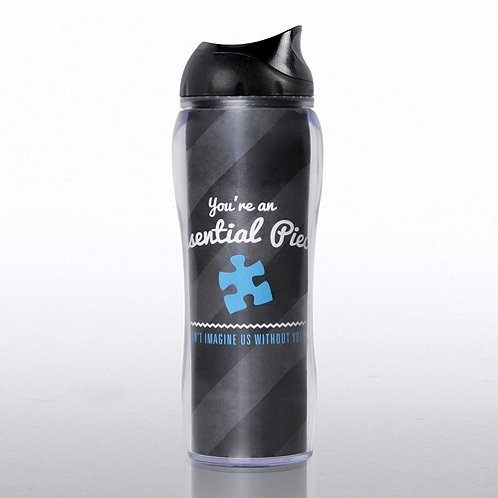 Blue Essential Piece Travel Mug