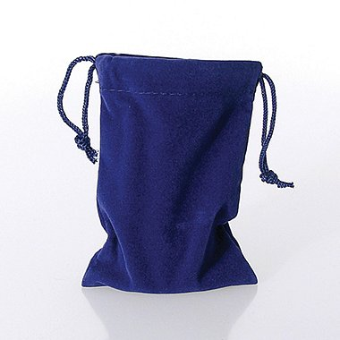 Lapel Pin Presentation Pouch - Blue