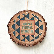 Charming Woodslice Ornament - MAD: It's What I Do