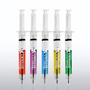 Multi-Color Syringe Pens - Nurses Make the Difference