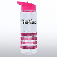 Sparkling Water Bottle - You are Totally Boss-Tastic