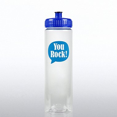 Color Splash Water Bottle - Positive Praise - You Rock!