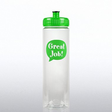 Color Splash Water Bottle - Positive Praise - Great Job!