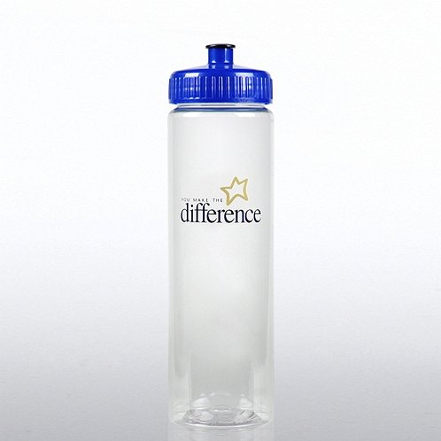 You Make the Difference Color Splash Water Bottle