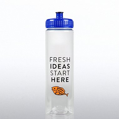 Color Splash Water Bottle - F.I.S.H Fresh Ideas Start Here