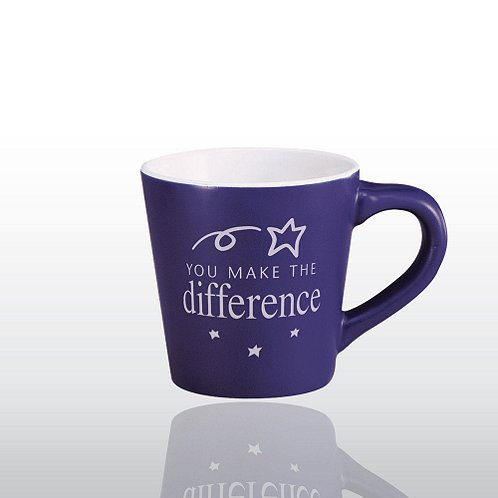 Ceramic Coffee Mug: You Make the Difference
