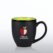 Matte Black Ceramic Mug - Education: Thanks for All You Do!