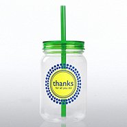 Mason Jar Tumbler - Thanks for All You Do!