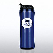 Elite Stainless Steel Travel Mug - Positive Praise You Rock!