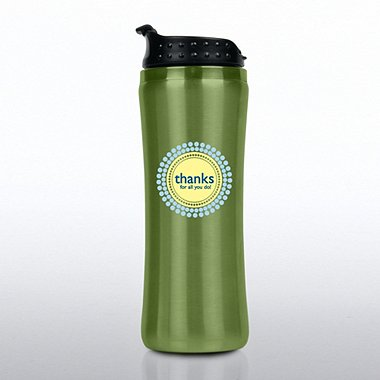 Elite Stainless Steel Travel Tumbler - Thanks for All You Do
