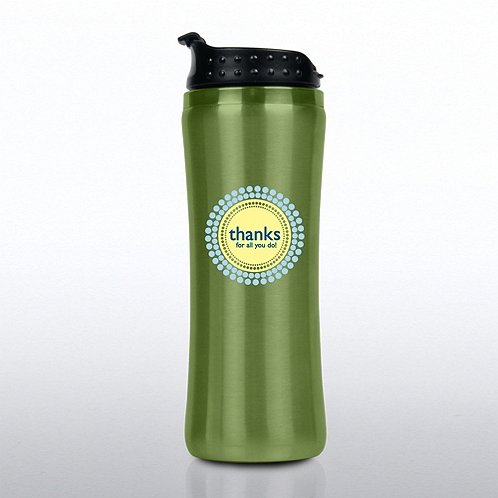 Thanks for All You Do Elite Stainless Steel Travel Tumbler