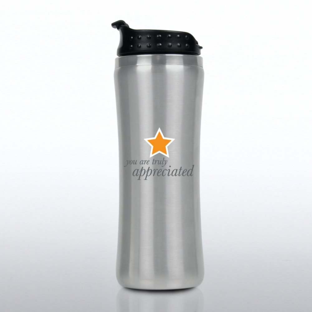 You're Truly Appreciated Stainless Steel Travel Mug