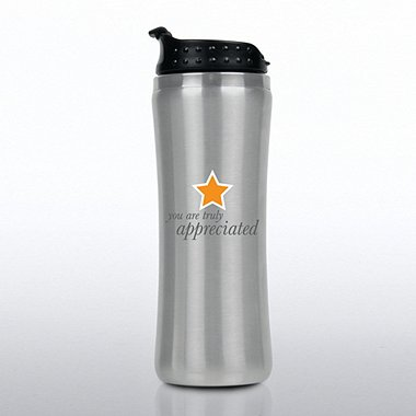 Elite Stainless Steel Travel Mug - Truly Appreciated